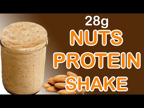 How To Make Nuts Protein Shake At Home Without Protein Powder