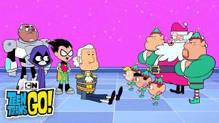 Teen Titans GO! | Santa Tries to Take Over Halloween | Cartoon Network
