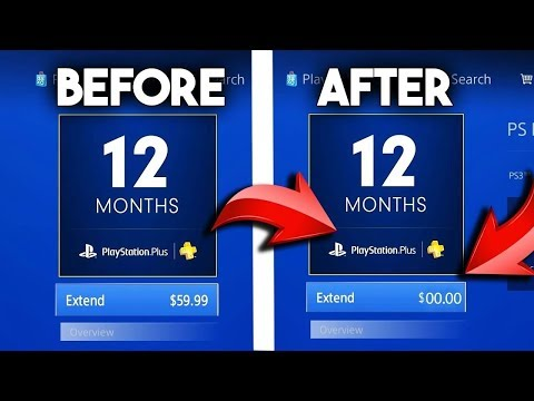 How To Get PLAYSTATION PLUS FOR FREE (JUNE 2018)