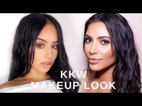 KIM KARDASHIAN MAKE UP TUTORIAL | GET THE LOOK Ft. UniceHair