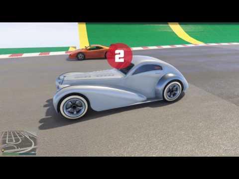 GTA 5 Top Speed Drag Race (Turismo Classic vs. Z-Type)