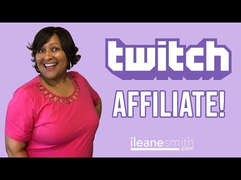 What is a Twitch Affiliate