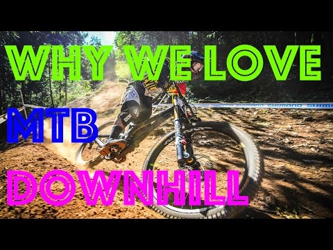 why we love MTB downhill