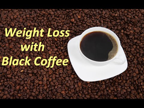 How to make Black Coffee - Black Coffee Recipe for Weight Loss - Coffee without milk and benefits