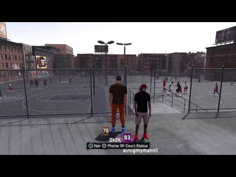Streaking on the 2k18 best center ever i dare you to pull up