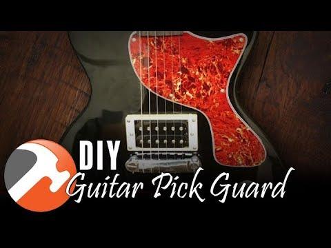 DIY Guitar Pick Guard - I CAN MAKE THAT