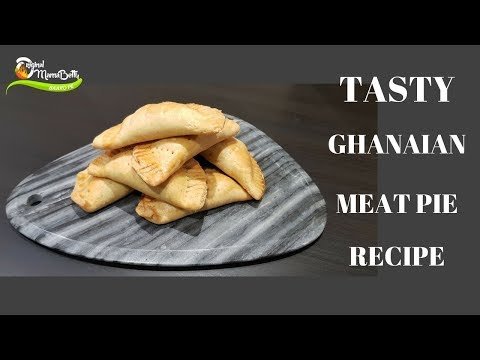 How to make Ghanaian meat pie