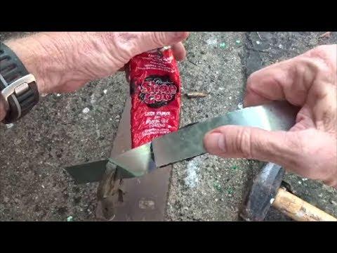 Will Shoe Goo Glue Metal?