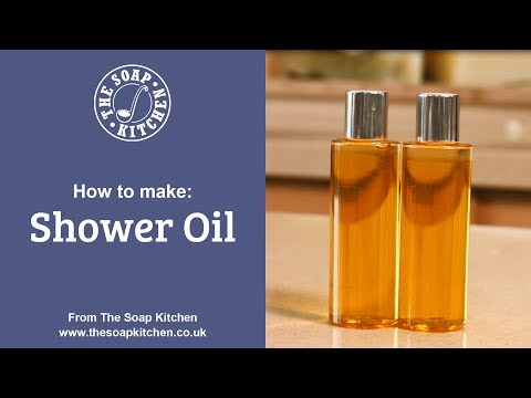 How To Make Quick and Easy Luxury Shower Oil (DIY Beauty)