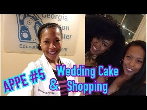 APPE #5 w/ Mercer Students & Wedding Cake Shopping! *RE-UPLOADED*