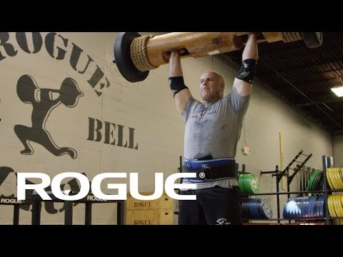 How To Lift a Strongman Log with Steve Slater