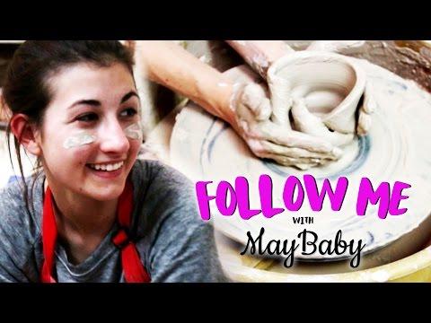 MAYBABY'S POTTERY FAIL - FOLLOW ME EP 6