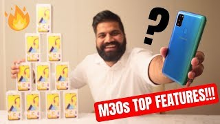 Samsung Galaxy M30s Top Features + Giveaway   6000mAh   sAMOLED   48MP #GoMonster🔥🔥🔥