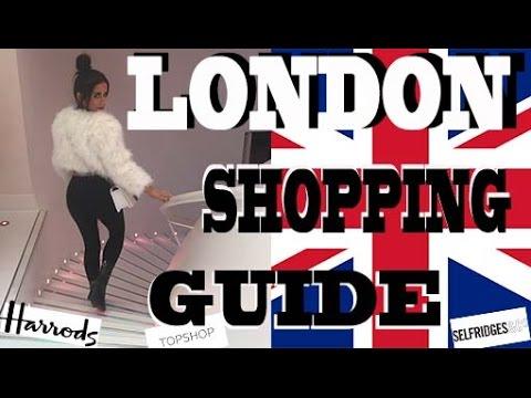 LONDON SHOPPING VLOG!