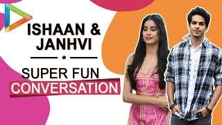 Ranbir ya Ranveer? Ishaan Khatter and Janhvi Kapoor BATTLE it out!