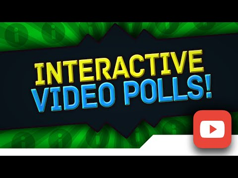 [TUTORIAL] How to Make/Create IN-VIDEO POLLS on YouTube with the NEW YouTube Interactive Poll Cards