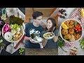 Vegan Buddha Bowl Challenge | Sushi vs. Mediterranean