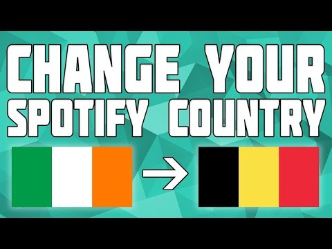 How to Change Your Spotify Country!