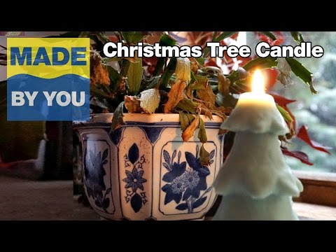 Mold Making Tutorial: Christmas Tree Candle
