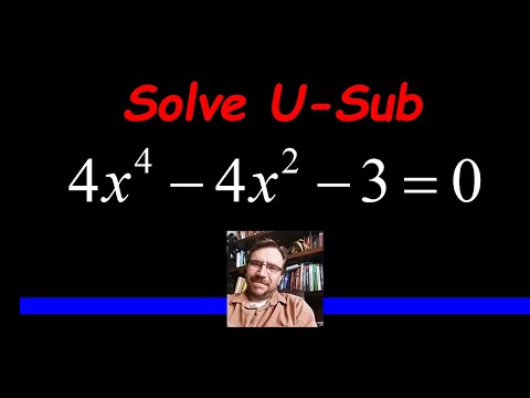 Solve an Equation using a U-Substitution