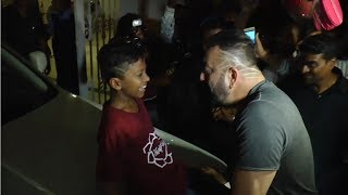 Sanjay Dutt Makes UNKNOWN BOY Sit on His New Rolls Royce