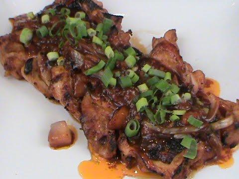 Asian Marinated Chicken Thighs Recipe