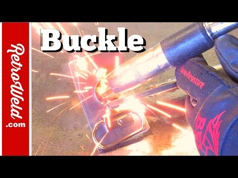🔴 Made a Steel Buckle using a Shop Press Brake