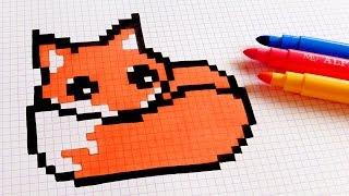 Comment Dessiner Un Renard Pixel Art