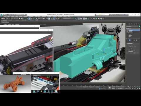 Lego batman 2017 batmobile making of 10x speed (Complete Project)