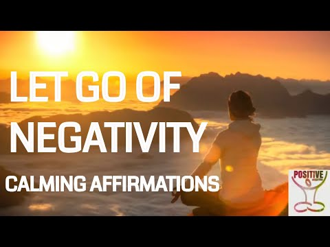 Affirmations For Becoming Mentally Strong Release Negativity Negative Thoughts Positive Energy 911