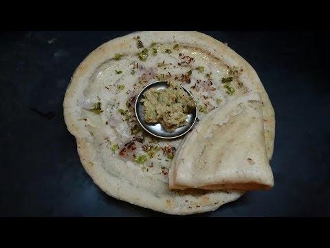 Idly Pindi Dosa  (ఇడ్లీ పిండి దోసెలు)Preparation in Telugu