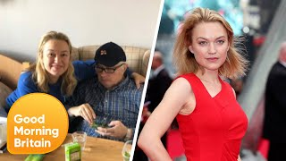 Actress Sophia Myles Lost Her Father To Covid 19 Good Morning Britain