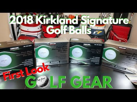 2018 Kirkland Signature Golf Balls Giveaway!