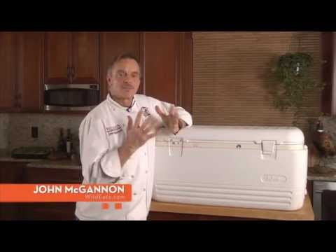 How to Put Deer in Cooler on The Sporting Chef