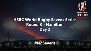 We're LIVE for day two of the HSBC World Rugby Sevens Series in New Zealand #NZSevens