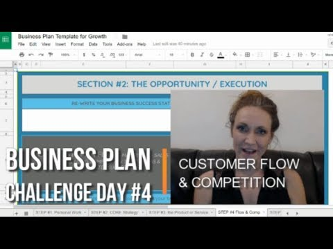 Day #4 Write Your Business Plan Challenge: Customer Flow & Learning from Competition
