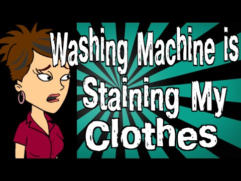 Why is My Washing Machine Staining My Clothes?