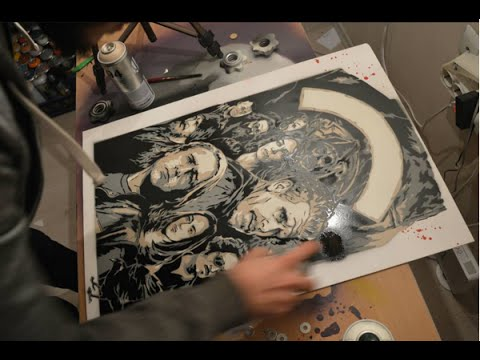 Stencil - Multi Layer (Sons of Anarchy)