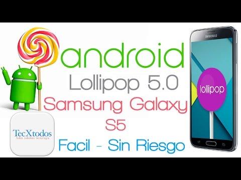 Como Actualizar el Samsung Galaxy S5 a Android 5.0 Lollipop Oficial Facil - SIN RIESGOS