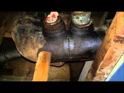 Replace or Join Cast Iron Drain Pipe with ABS or PVC