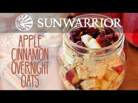 Apple Cinnamon Overnight Oats | Marzia Prince