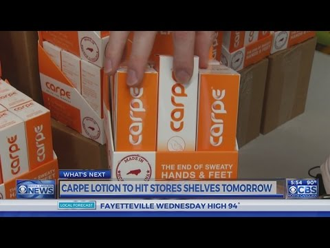 UNC, Duke students' anti-sweaty hands lotion to be available locally