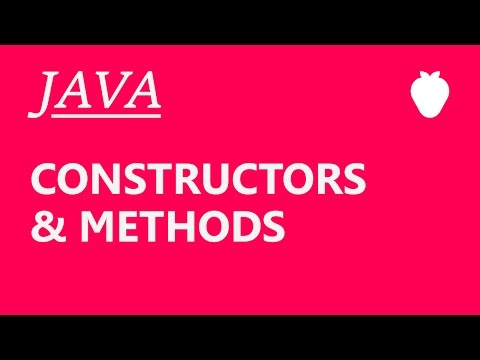 Java Tutorial For Beginners #2 - Constructors and Methods