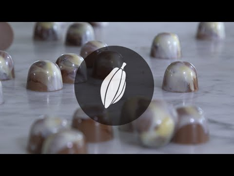 Marbled pralines | Simply Chocolate and more