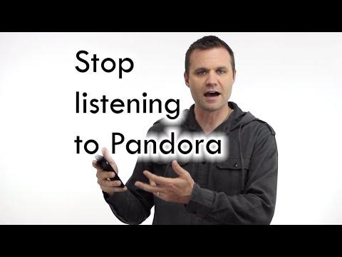 Stop listening to pandora