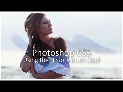 [Photoshop CS5] Using The History Brush Tool