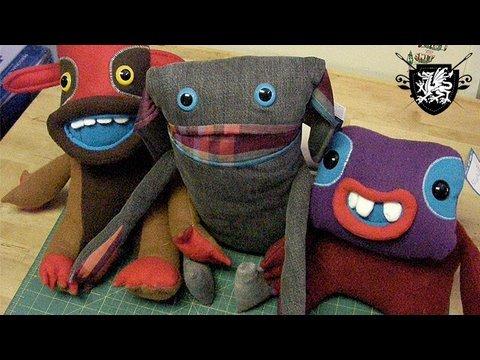 DIY Stuffed Animals, X-mas in July : Threadbanger Projects