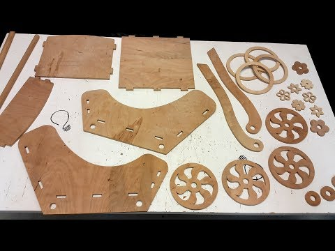 Making a Doll Pram on the Scroll Saw (Part 1 of 2)