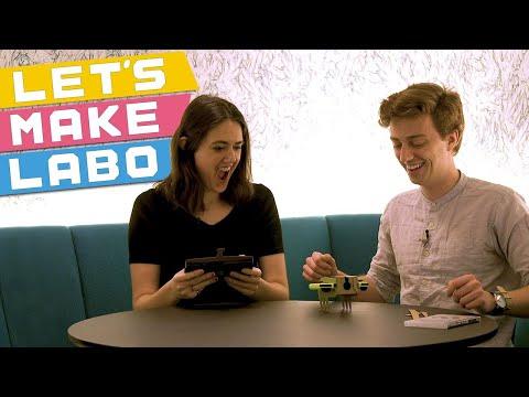 Nintendo Labo UNBOXING & BUILDING — Let's Make a Toy-Con RC Car!