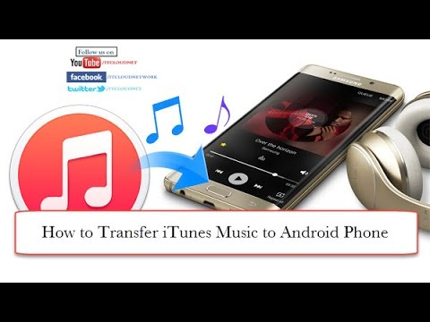How to Transfer iTunes Music to Android Phone or Tablet & How to Upload iTunes music to Google Play